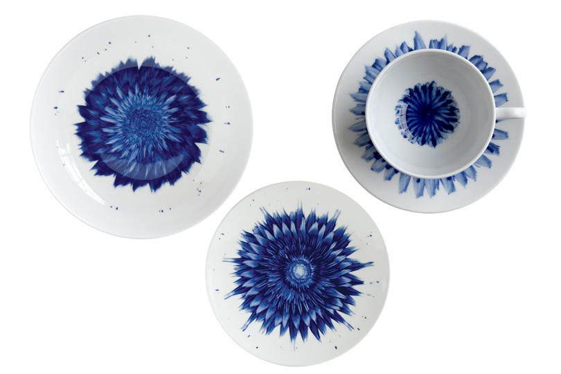 Цветы в тарелке: коллекция посуды Bernardaud, созданная совместно с художницей Земер Пелед