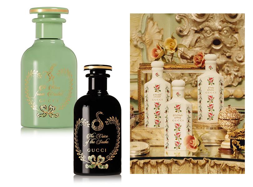 Gucci представили коллекцию ароматов The Alchemist's Garden в аптекарских флаконах