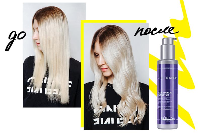 Сила блондинок: L'Oréal Professionnel запустили салонную услугу Blondifier. Коктейль Cool Blond