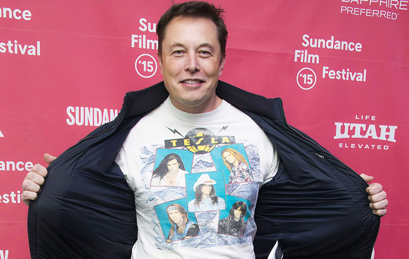 Elon Musk, CEO and Co-founder of Tesla Motors