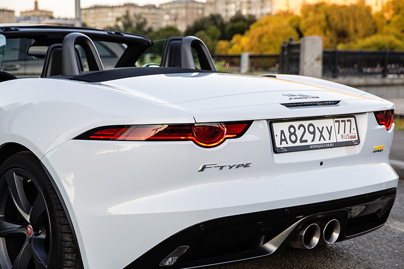 Cars with Jan Coomans. Jaguar F-Type 400 Sport Convertible review