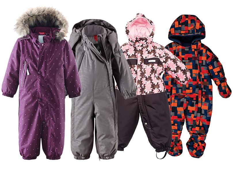 Posta Kids Club: как выбрать зимнюю одежду для ребенка. Комбинезоны насинтетическом утеплителе смембраной Reima ReimaTec, Kerry, Gusti