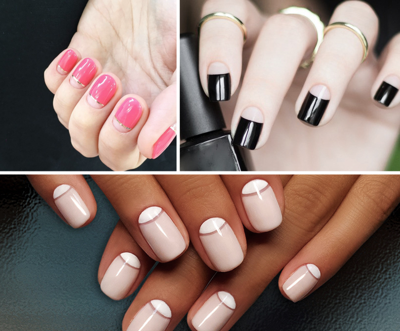 Уроки красоты сЕвгенией Ленц: «голливудские» ногти— новый тренд. Лунный маникюр
