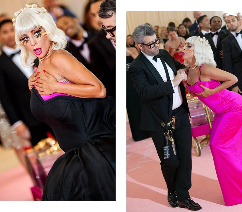 Бал Института костюма – 2019: Леди Гага (в Brandon Maxwell)