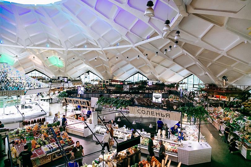 Открытие обновленного пространства Даниловского рынка
