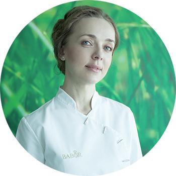 Наталья Высоцкая, ведущий тренер Babor вРоссии