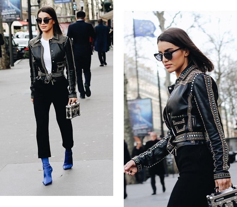 Street Style: лучшие образы уличной моды сParis Couture осень-зима— 2018. Камила Коэльо
