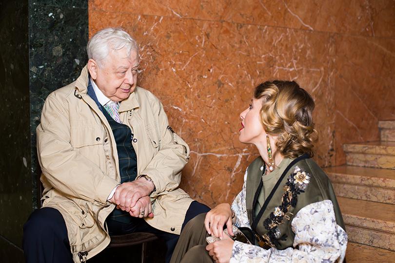 Art & More: юбилейная выставка Льва Бакста в Пушкинском музее. Олег Табаков и Ксения Собчак