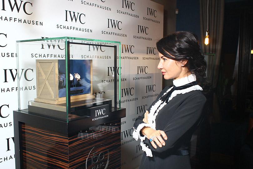 Закрытый ужин IWC Schaffhausen иUltima Collection. Виктория Сощенко