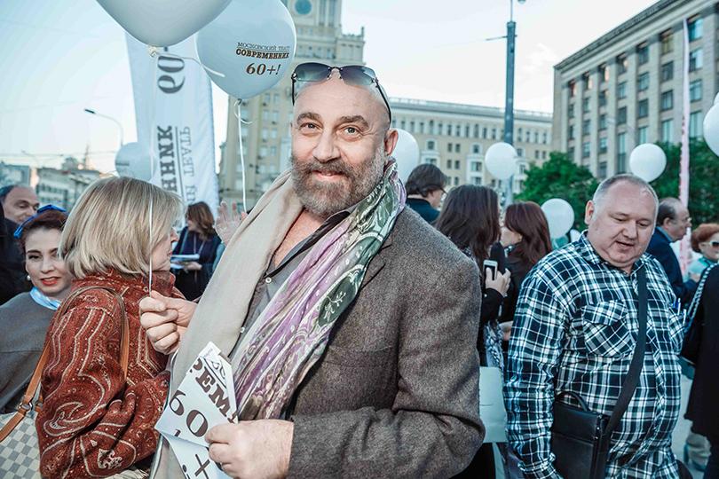 КиноТеатр: «Современник» отметил юбилей на Триумфальной площади. Павел Каплевич
