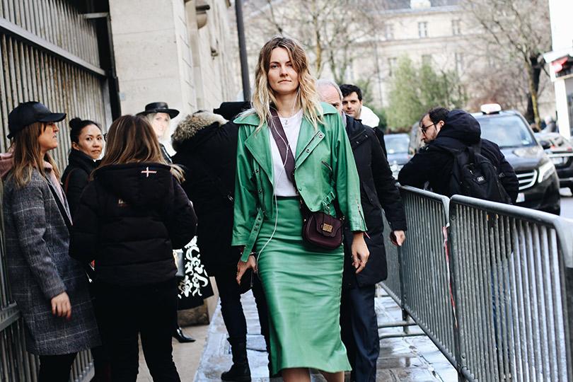 Street Style: лучшие образы уличной моды сParis Couture осень-зима— 2018. Екатерина Мухина