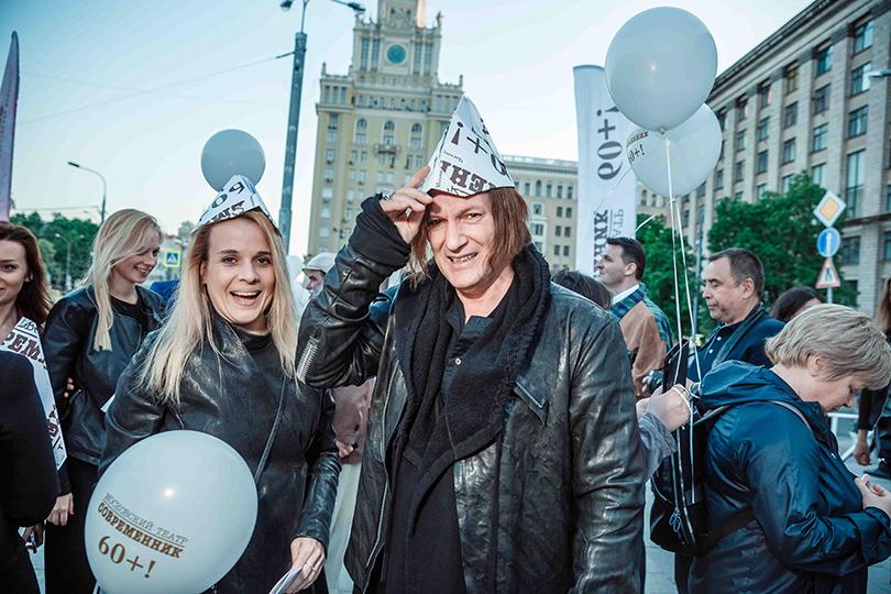 КиноТеатр: «Современник» отметил юбилей на Триумфальной площади. Игорь Миркурбанов