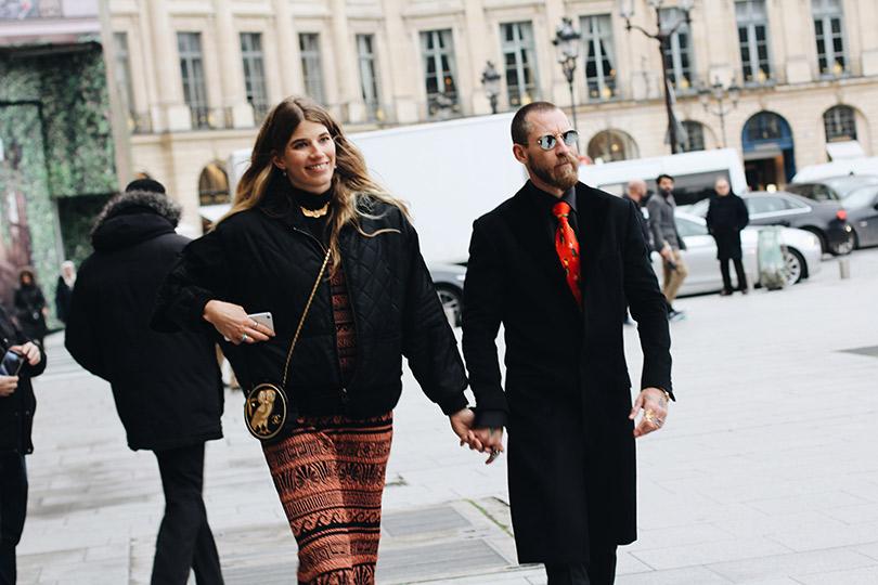 Street Style: лучшие образы уличной моды сParis Couture осень-зима— 2018. Вероника Хейлбрюннер