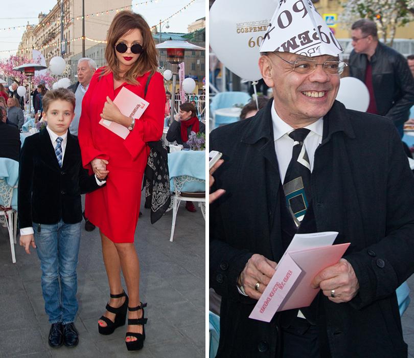 КиноТеатр: «Современник» отметил юбилей на Триумфальной площади. Ольга Дроздова с сыном. Константин Райкин