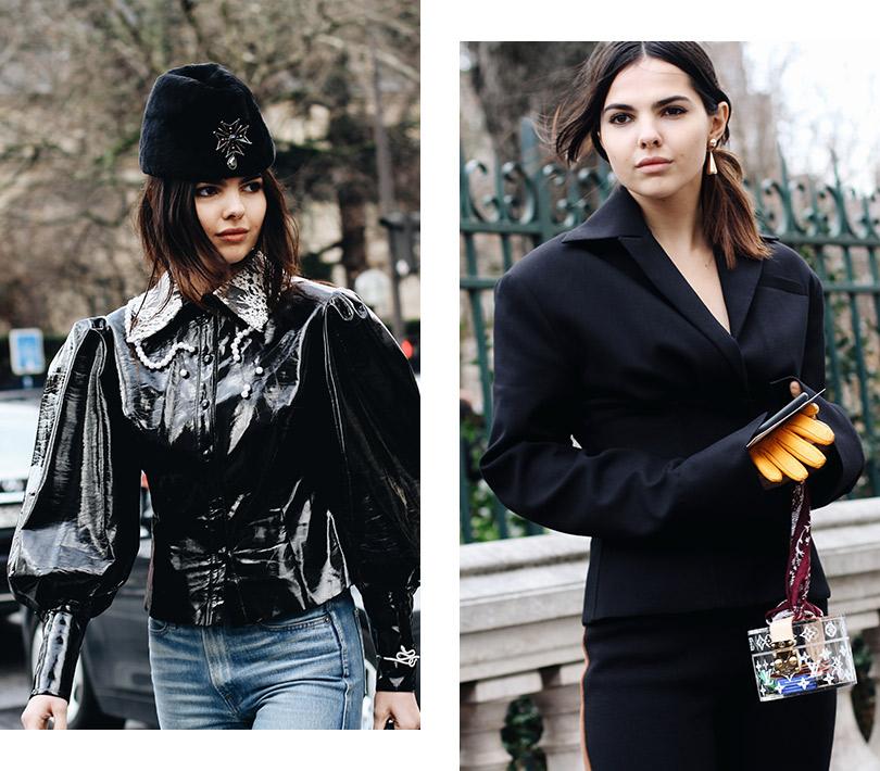 Street Style: лучшие образы уличной моды сParis Couture осень-зима— 2018. Дойна Чобану