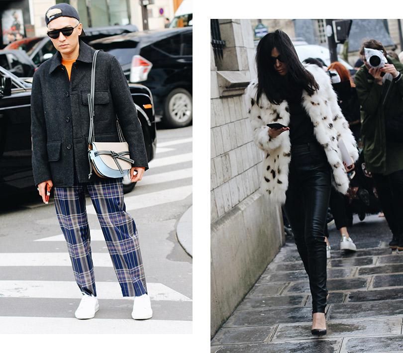 Street Style: лучшие образы уличной моды сParis Couture осень-зима— 2018. Брайан Бой. Барбара Мартело