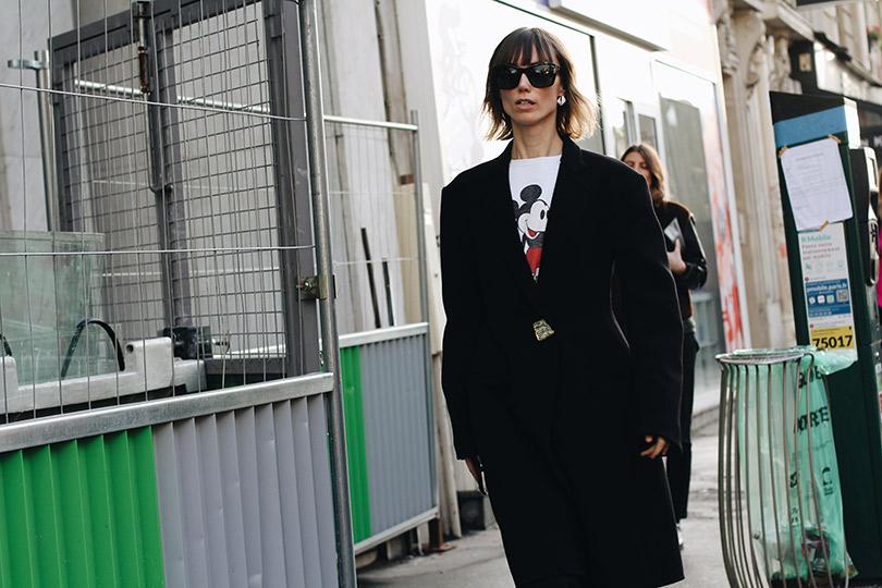 Street Style: лучшие образы уличной моды сParis Couture осень-зима— 2018. Анна Зюрова