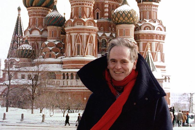 Пьер Карден в Москве. 1991