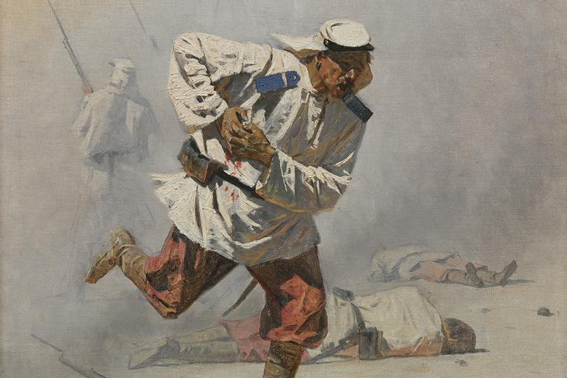 Смертельно раненный. 1873