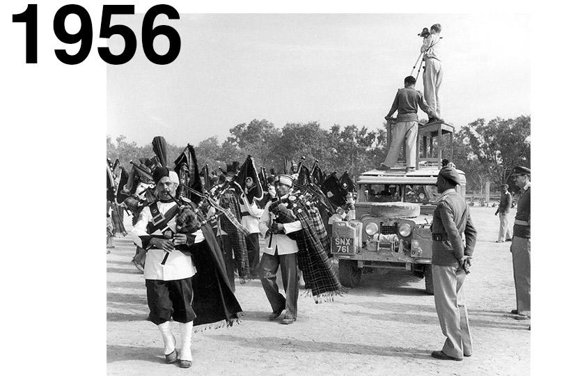 1956 Экспедиция команды Оксфорда иКембриджа изЛондона доСингапура наSeriesI.