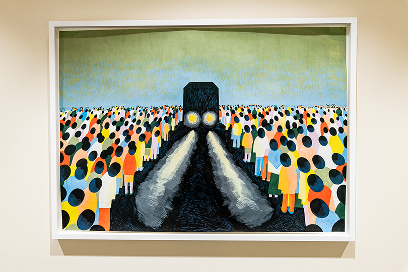 Работа Светланы Шуваевой «Ожидание» (2015 г.), коллекция Credit Suisse