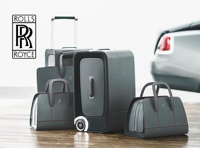 Самые красивые чемоданы и другой багаж из lifestyle-коллекции: Rolls-Royce