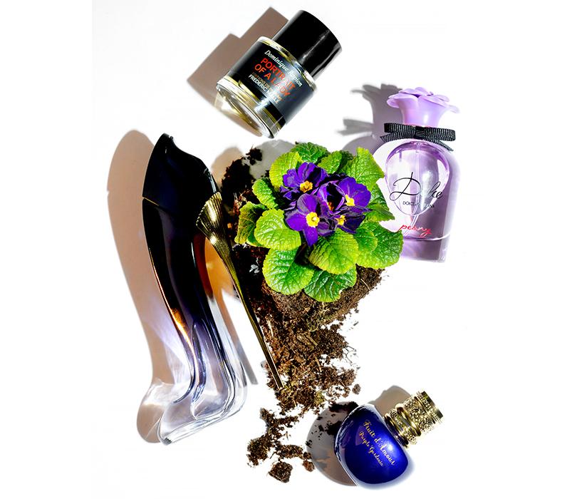 Парфюмерная вода Good Girl, Carolina Herrera  Парфюмерная вода Dolce Peony, Dolce & Gabbana  Парфюмерная вода Portrait of a Lady, Frederic Malle  Парфюмерная вода Fruit d'Amour Purple Gardenia, Ungaro