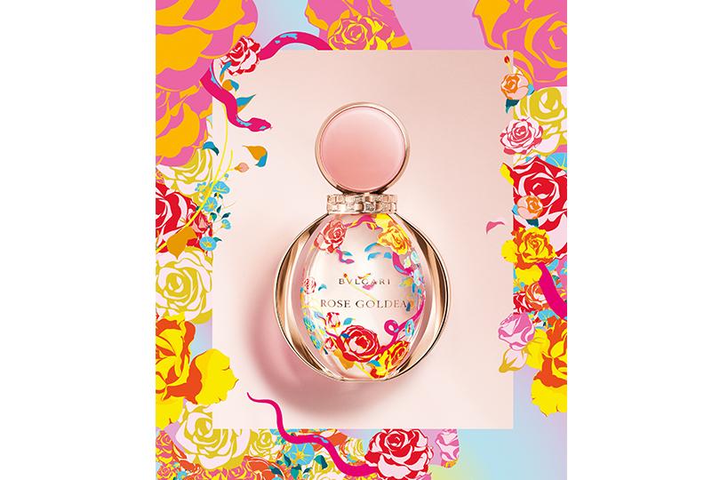 Лимитированный аромат Rose Goldea, Bvlgari
