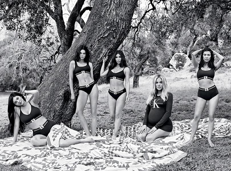 Дела семейные: сестры Кардашьян-Дженнер вновой рекламной кампании Calvin Klein Underwear