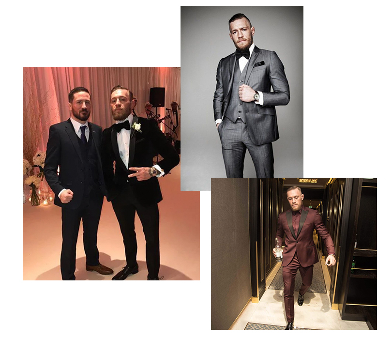 Конор Макгрегор выходит «на пенсию»: разбираем стиль самого модного ирландца. Смокинги