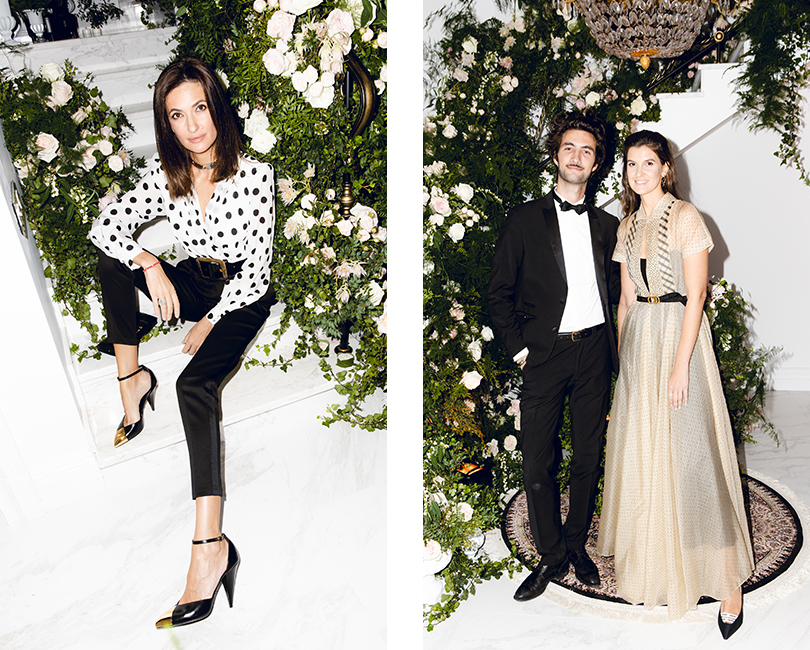 Снежана Георгиева. Юг Луаре (Dior) и Кристина Викулина (Dior Russia)