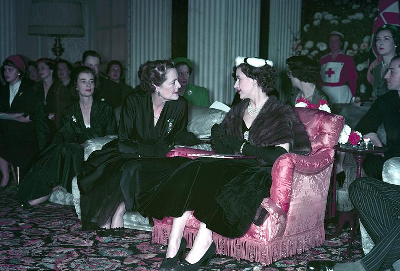 Style Notes: империя роскоши. 70лет Дому Dior. 1954— Бленхеймский дворец