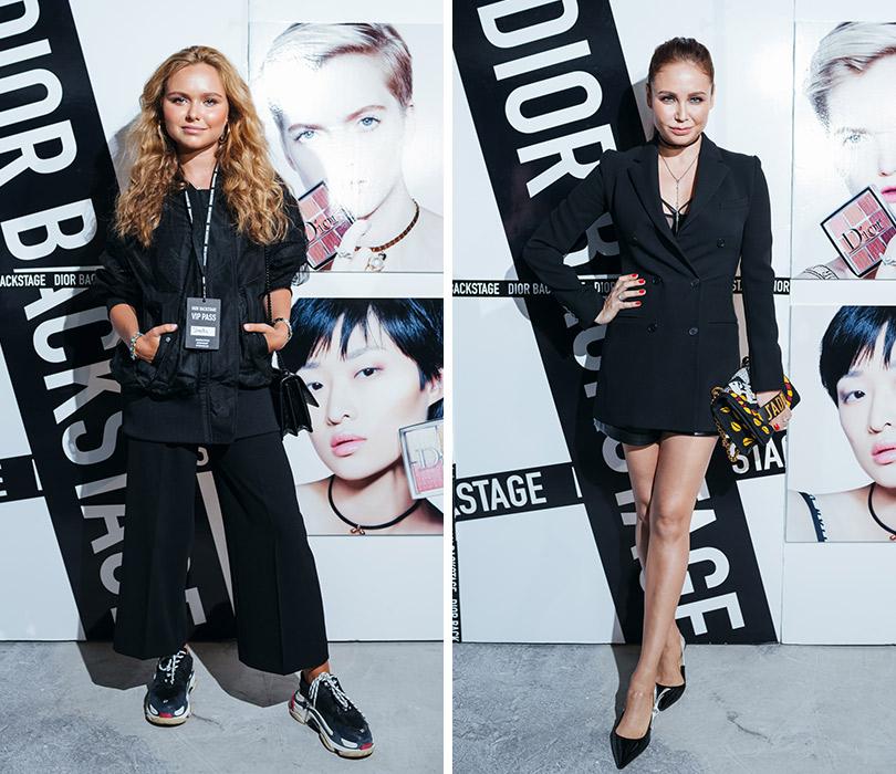 Презентация коллекции профессионального макияжа Dior Backstage Line. Стефания Маликова. Ляйсан Утяшева