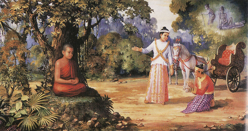 Первым в мире известным дауншифтером и самым ярким примером данного явления был индийский принц Сиддхартха, известный больше как Будда