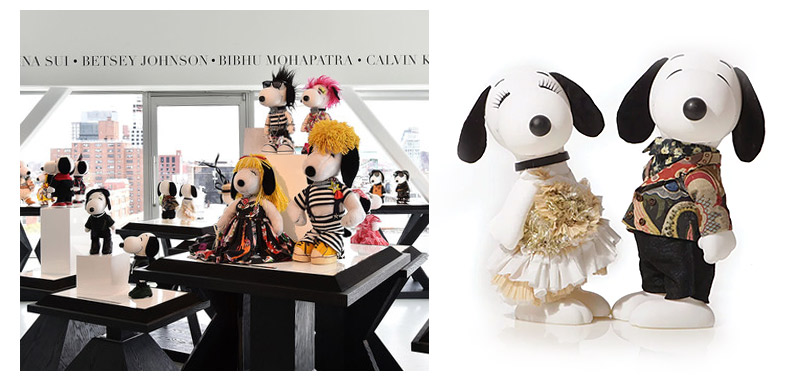 Dries Van Noten к выставке Snoopy & Belle in Fashion