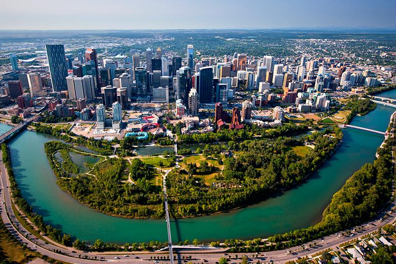 Аналитики назвали самые комфортные города для жизни. Калгари