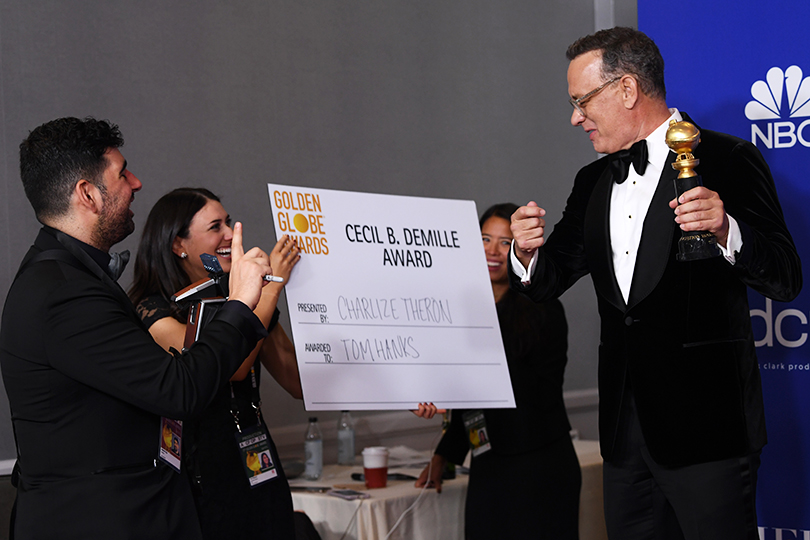 Том Хэнкс с почетной наградой