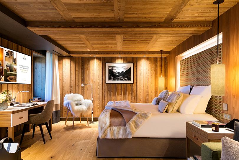 Идея на каникулы: встретить зиму всей семьей в Hotel Barrière Les Neiges Courchevel
