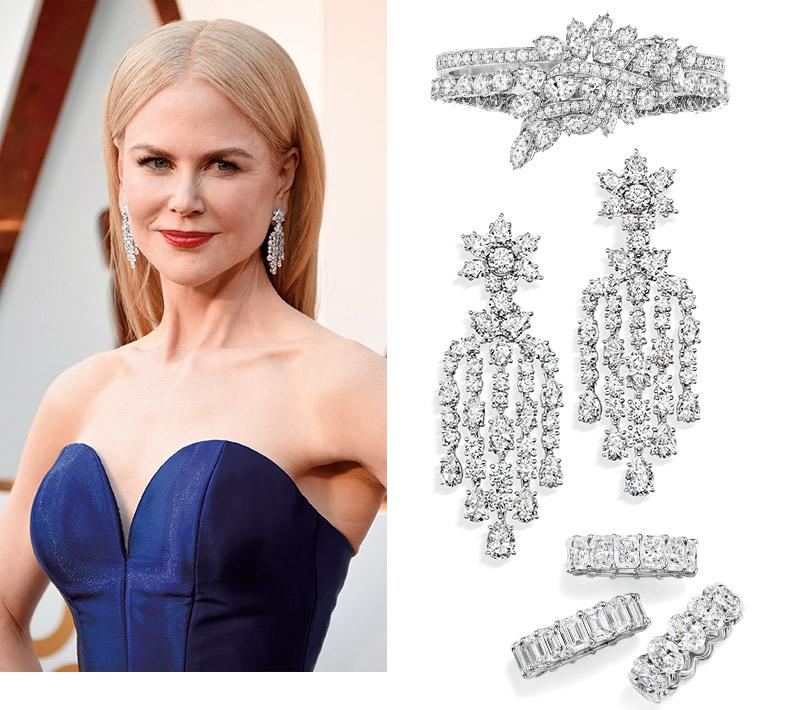 Часы &Караты: роскошные украшения церемонии «Оскар». Николь Кидман