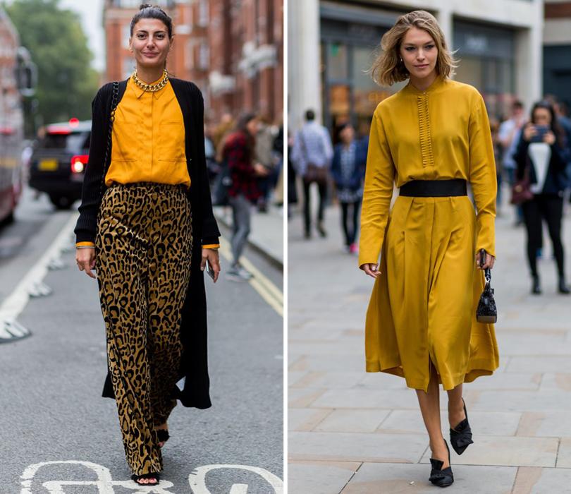Street Style: лучшие образы на Неделе моды в Лондоне. Джованна Батталья. Модель Аризона Мьюз