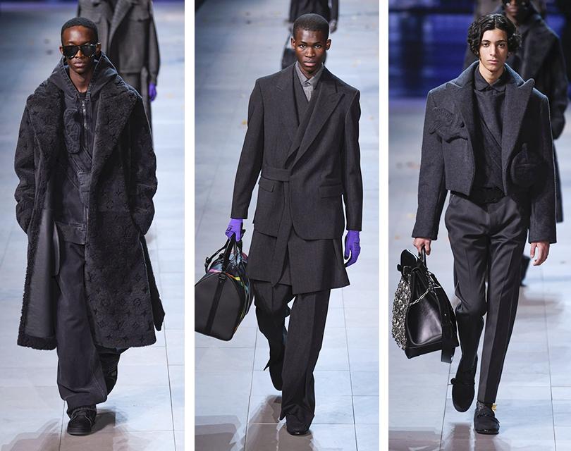 Вирджил Абло представил осенне-зимнюю коллекцию Louis Vuitton на Неделе мужской моды в Париже