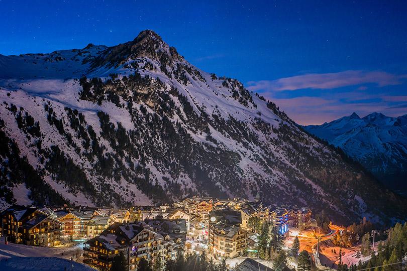 Куда поехать весной: Лез-Арк— жемчужина Французских Альп