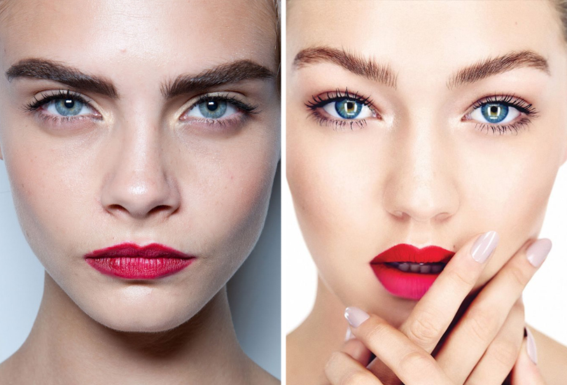 Новый год. Total Beauty: 9бьюти-трендов уходящего 2016 года. Ухоженные естественные брови