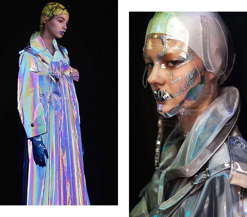 Гости избудущего: футуристический макияж Пэт Макграт для коллекции Maison Margiela Artisanal