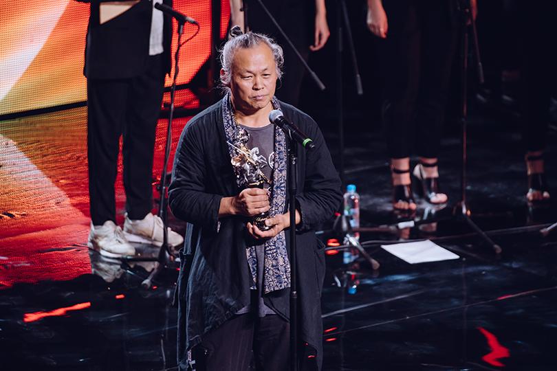 Церемония открытия 41-го Международного московского кинофестиваля. Председатель жюри Ким Ки Дук