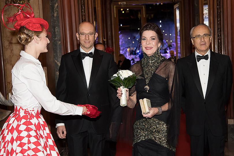 Эксклюзивный репортаж сзакрытого ужина взнаменитом Casino deMonte-Carlo. Принцесса Монако Каролина