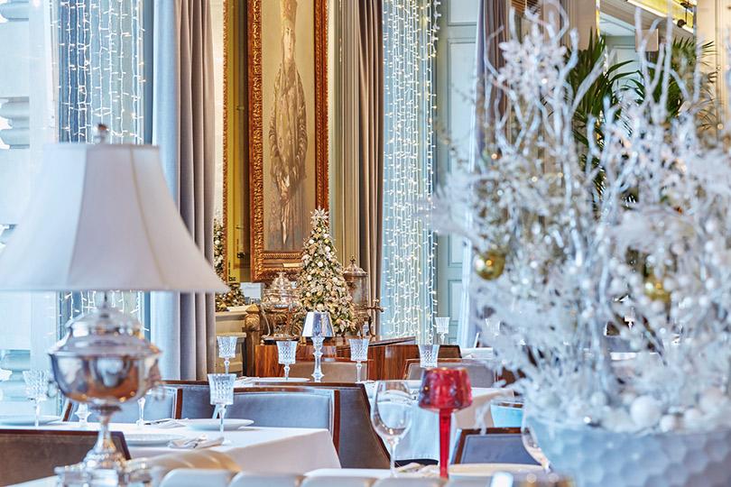 Где провожать старый год: 5предложений московских ресторанов. Вариант3: Пышно вресторане «Белуга»