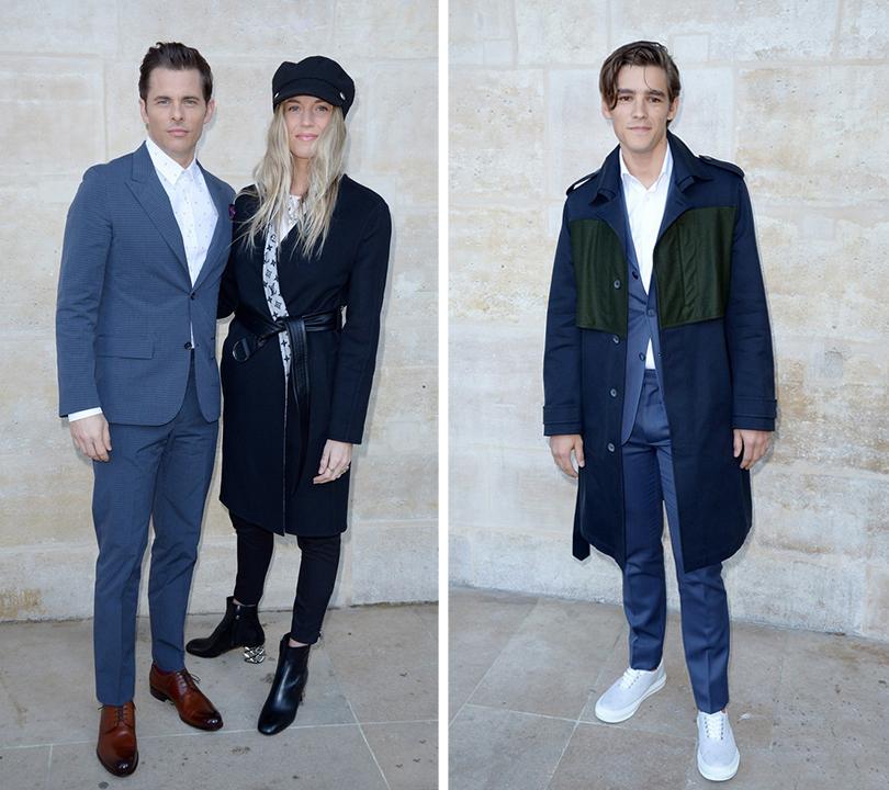 Men in Style:хроники парижского стиля. Джеймс Марсден. Брентон Туэйтес