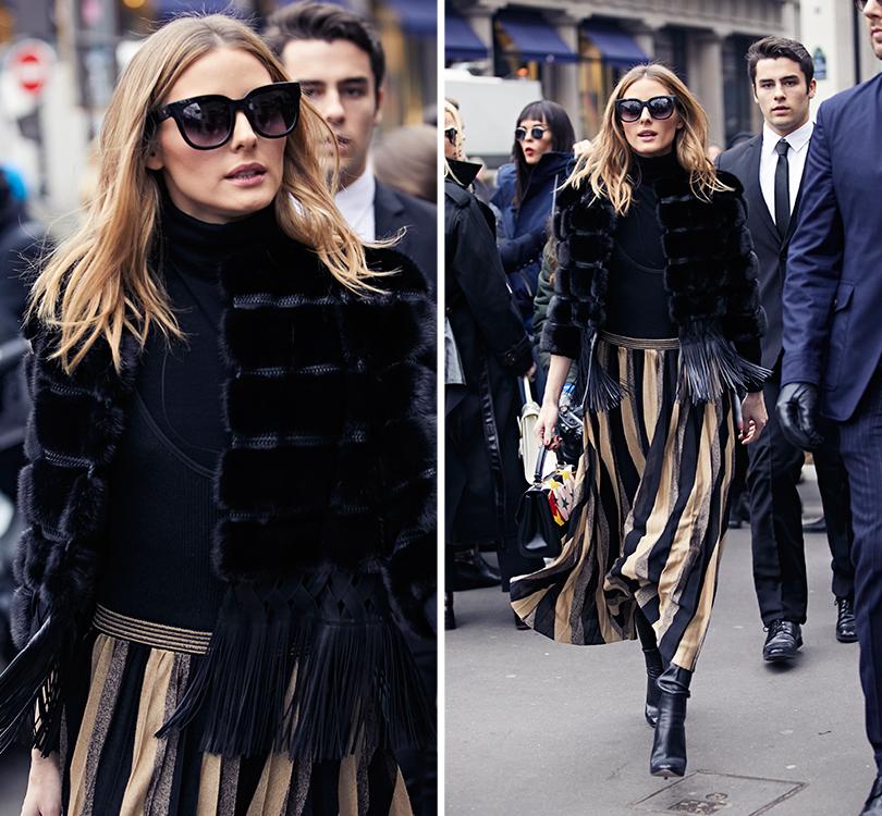 Street Style: эксклюзивные фотографии стретьего дня Недели Haute Couture вПариже вобъективе ИноКо. Оливия Палермо