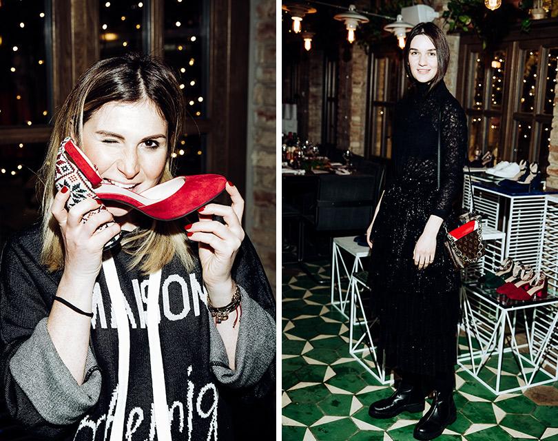 Презентация капсульной коллекции обуви Анки Цицишвили иPortal. Лаура Джугелия. Мари Коберидзе
